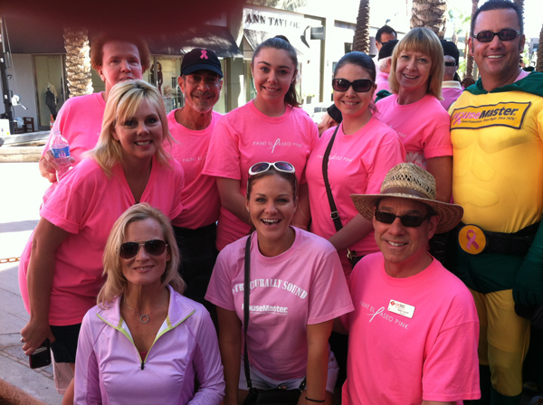 Robin Smith of Desert Smith Group at Paint El Paseo Pink